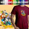 Disney Mickey Mouse Minnie Goofy Pluto Donald Duck Unisex Mens Tee Crew T-Shirt