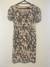 Jacqui E size 10 womens short sleeved dress,fully lined