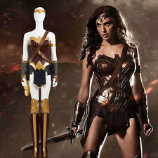 HZYM Batman v Superman Cosplay Wonder Woman Diana Prince Costume Deluxe Outfit