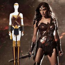 Custom Size Batman v Superman Wonder Woman Diana Prince Cosplay Costume Shoeshot
