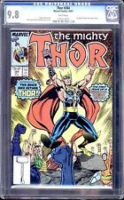 THOR #384 CGC 9.8 WHITE PAGES 1ST APPEARANCE OF FUTURE THOR
