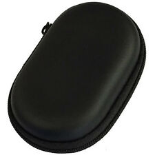 SD TF Card Earphone Headphone Earbuds Mini Zipper Hard Case Storage Bag Black