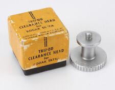 Kodak Tripod Clearance Head For Ektra, With Worn Box/cks/191938