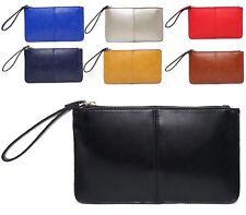 Fashion Leather Wallet Wrist Purse Ladies Long Women's Envelope Handbag Clutch