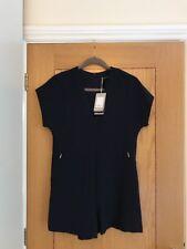 ZARA Trafaluc Collection - Women's Navy V-Neckline Short Playsuite Size XS - NEW