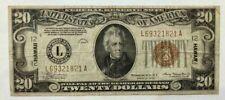 1934 $20 Hawaii Note. Very Nice. A69321821A.