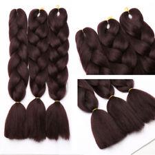 5x Ombre Synthetic Kanekalon Jumbo Braiding Hair Extension Afro Twist BOX Braid