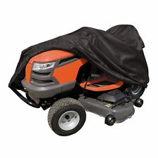 Heavy Duty Riding Tractor Lawn Mower Deluxe Large Black Weather Cover Protector