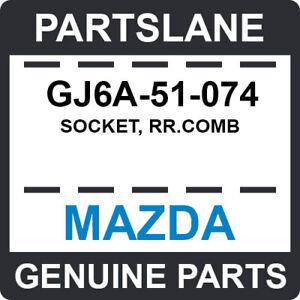 GJ6A-51-074 Mazda OEM Genuine SOCKET, RR.COMB