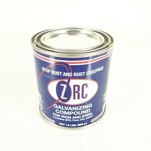 ZRC Galvanizing Repair Compound, 1/2 Pint 95% zinc