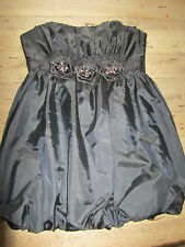 NEW LOOK ORIGAMI CORSAGE PROM PARTY DRESS NEW WITH TAGS SIZE UK 12 EU 40