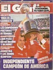 INDEPENDIENTE Libertadores America 1984 Champion vs Gremio - Magazine