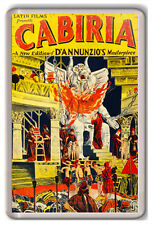 CABIRIA 1914 FRIDGE MAGNET IMAN NEVERA
