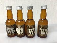Lotto 4 Bottiglie Mignon W5 Scotch Whisky 39cc 43%