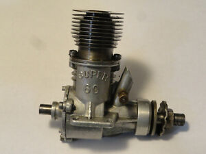 Vintage 1945 OK Super 60 Ignition Model Plane Engine
