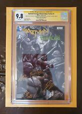 BATMAN/TMNT #1 Conquest Comics Sketch Edition #2 Of 16. 4 signitures + sketch