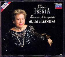 Alicia de LARROCHA: ALBENIZ Iberia 1-12 Suite Espanola Navarra 2CD DECCA 1988