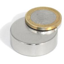 Super Magnete Disco al Neodimio diametro 30 x 10 mm Gauss 10.500 Magnetoterapia