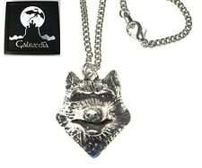 NEW LUPERCUS 3D WOLF PENDANT NECKLACE Wolves by Galraedia - Gift Box