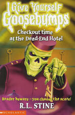 Checkout Time at the Dead-End Hotel (Give Yourself Goosebumps)-ExLibrary