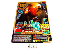 Animal Kaiser Original Evolution Evo Version 5 Gold Card (A122E: European Bison)