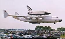 AN-225 Antonov Piggyback Space Shuttle Buran Mahogany Kiln Wood Model Large New