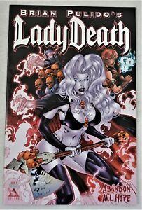 LADY DEATH ABANDON ALL HOPE #2 Platinum Foil Variant NM