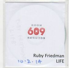 (FC681) Ruby Friedman, Life - 2014 DJ CD
