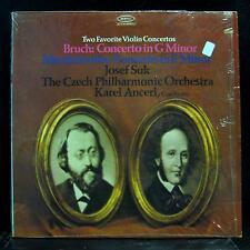 Josef Suk - Bruch & Mendelssohn Violin Concerto LP Mint- Promo BC 1346 Stereo