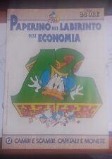 LIBRO PAPERINO NEL LABIRINTO DELL'ECONOMIA VOL 12 CAMBI E SCAMBI IL SOLE 24 ORE