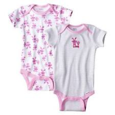 Gerber 2-pack Bodysuit Infant/Baby Girl Clothes (GBG-94) - Bunny, 0-3 months