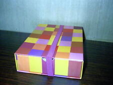 Hallmark Note Card Ensemble Storage Box Slide Out Drawer 20 Notes Multi Color