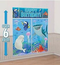 Disney Finding Dory & Nemo Wall Decoration Kit Birthday Party Scene Setter