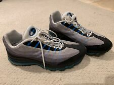 Nike Air Max 95 Dynamic Flywire Black Blue 11 Used 03bf005e5