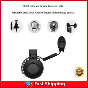 Electric Cycling Bell MTB Bicycle Bike Handlebar Loud Road Waterproof Horn Alarm