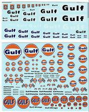 Decalbogen  Gulf - 1:18-1:24-1:32-1:43 (C-006)