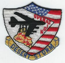 **OPERATION DESERT STORM MILITARY PATCH**
