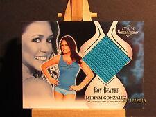 2012 Bench Warmer Vault Boy Beater Swatches #12 Miriam Gonzalez