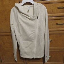 Women's Under Armour Studio off center zip sweatshirt hoodie size M NWT $99.99