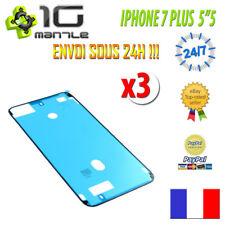 Pour iPhone 7 Plus - Lot 3x Joint étanchéité adhésif autocollant Ecran LCD
