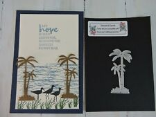 Craft Metal Die compatible with both Cuttlebug or Sizzix - Small Palm Trees