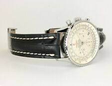 Breitling Navitimer 41mm automatic Leather A 23322 Deployment Buckle