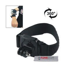 360 Degree Adjustable Wrist Strap Mount for GoPro HERO 6 HERO 5 4 3+ Session 4/5