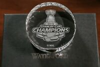 St. Louis Blues Waterford Crystal Stanley Cup Champions Puck NHL Hockey