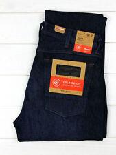 Wrangler Men's Classic Fit, Straight Indigo, Dark wash Jeans