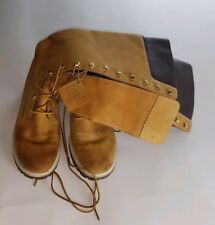 Timberland women tan  genuine leather knee boots size 7.5 pre-owned.