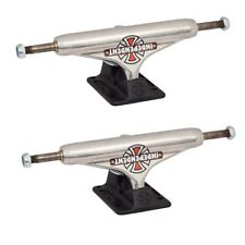 Independent 129 Stage 11 Forged Hollow Vintage Cross Silver Skateboard Trucks