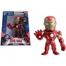 "Marvel Metals Diecast 4"" Mini Figure Iron Man"