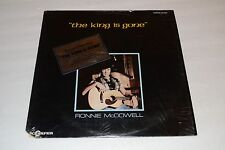 Ronnie McDowell~The King Is Gone~Elvis Newspaper Insert~Scorpion~FAST SHIPPING