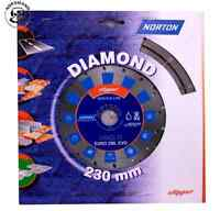 NORTON diamond cutting disc 230 x 22,23 Concrete, Asphalt, General Baustoffe etc